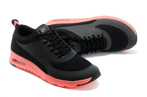 Womens Nike Air Max Thea Black Orange Best Price